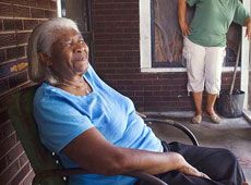 Joceil Smith, former resident, Columbus Cottages